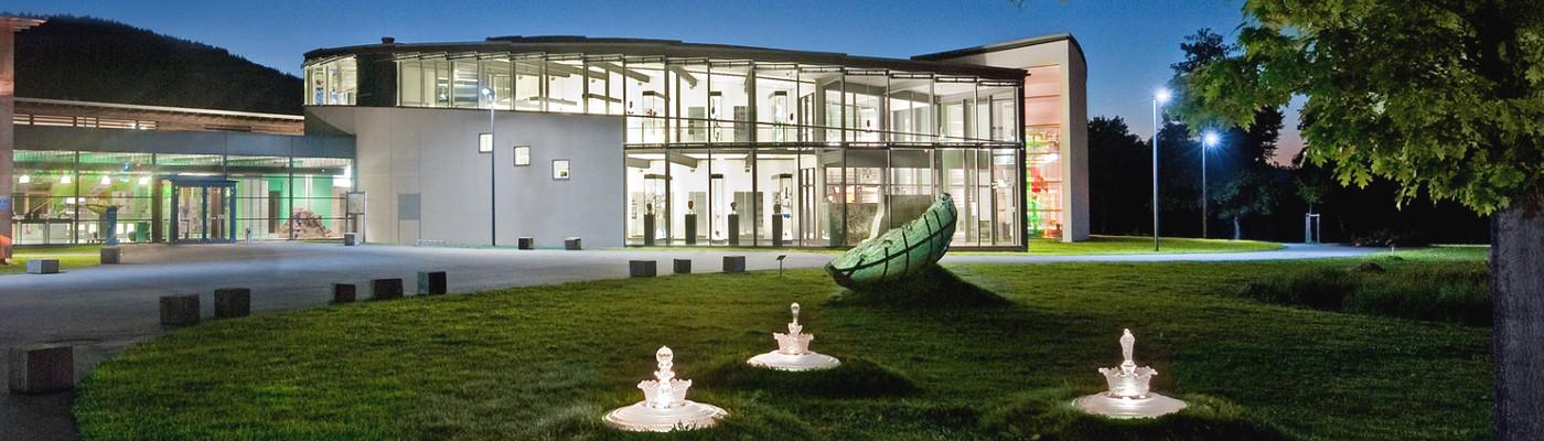 Glasmuseum Frauenau Außenansicht