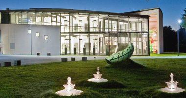 Glasmuseum bei Nacht Tom Wundrak