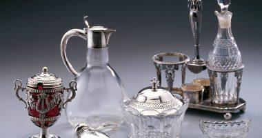 Glaseinsätze für Silbermonturen