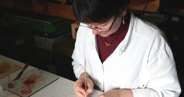 Glasmalerin Barbara Thoener