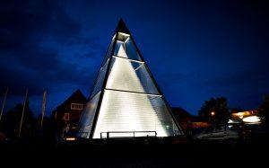 Glaspyramide Zwiesel Kristallglas