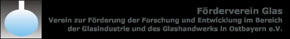Förderverein Glas Logo