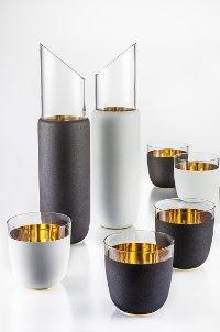 Glashütte Valentin Eisch / Cosmo Gold & Schwarz/Weiß