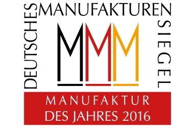 Glasmanufaktur von Poschinger / Auszeichnung zur Manufaktur des Jahres 2016