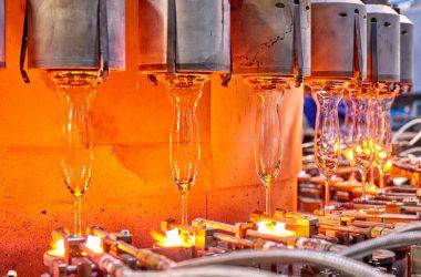 wiesel Kristallglas Glasproduktion