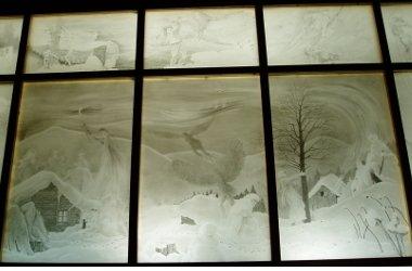 Gläserne Scheune / Rauhnacht-Glaswand
