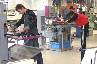 Glasfachschule Zwiesel / Flachglasbearbeitung