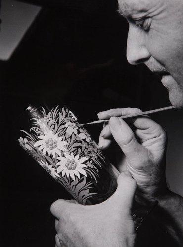 Glasmanufaktur von Poschinger - Glasmalen