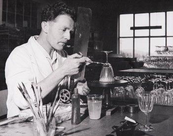 Glasmanufaktur von Poschinger / Handarbeit - damals wie heute