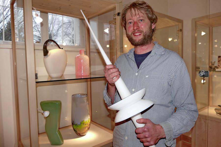 Glaskünstler Torsten Rötzsch